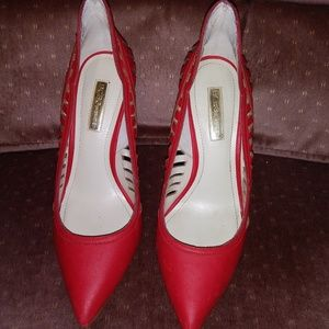 BCBGeneration Shoes - BCBGeneration Red Taleesa pointy toe pumps heels